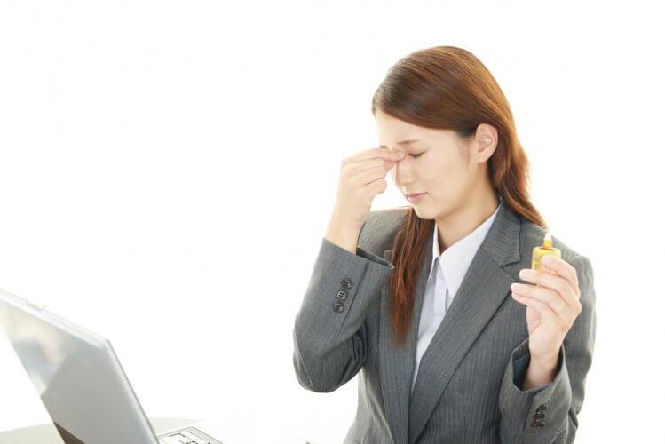 アレルギー性結膜炎の症状