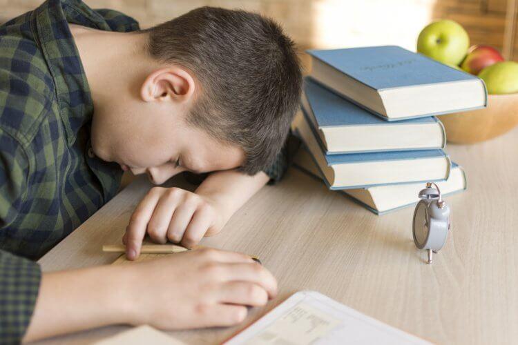 授業中の耐え難い眠気
