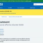 季節性感情障害への光療法の効果について
