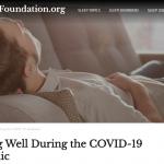 睡眠は体調と免疫系の働きに大切な役割を果たしています