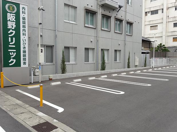 患者様駐車場