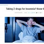 非ベンゾジアゼピン系の医薬品は異常行動に注意が必要です