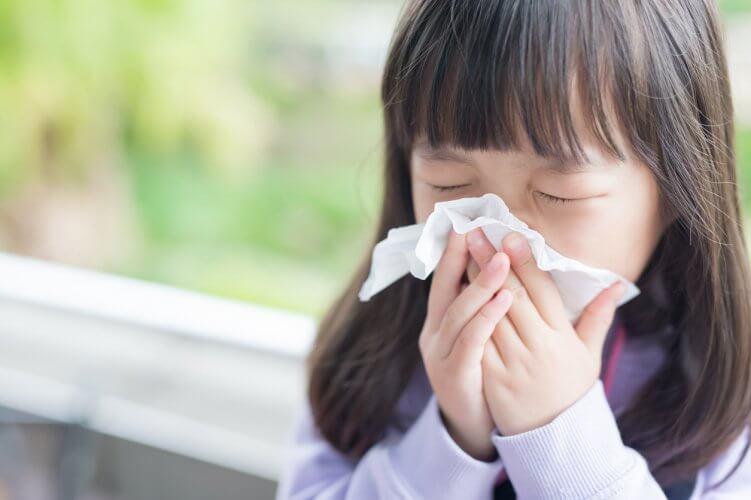 花粉 薬 子供 症