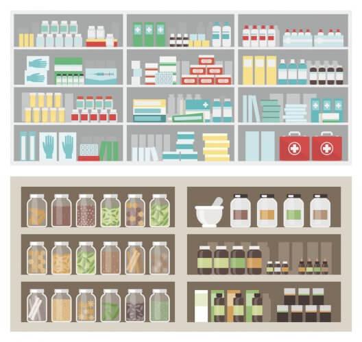 耳鼻科の病院および薬局で入手できる花粉症対策の漢方薬